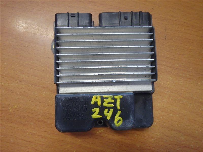Блок управления форсунками Toyota Caldina AZT246 1AZ-FSE 2004
