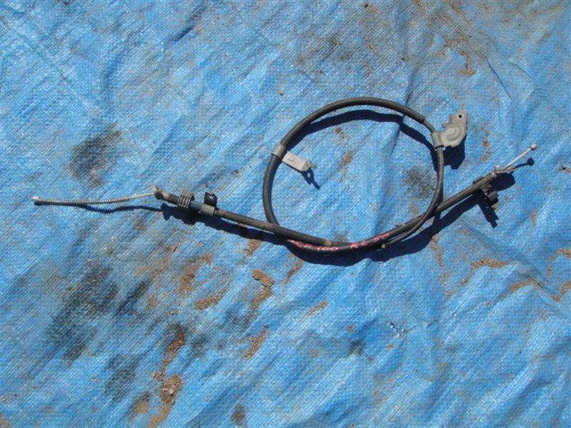 Тросик ручника Toyota Ractis SCP100 2SZ-FE 2009 задний левый