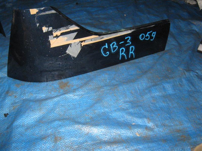 Крыло заднее Honda Freed GB3 L15A 2009 заднее правое верхнее