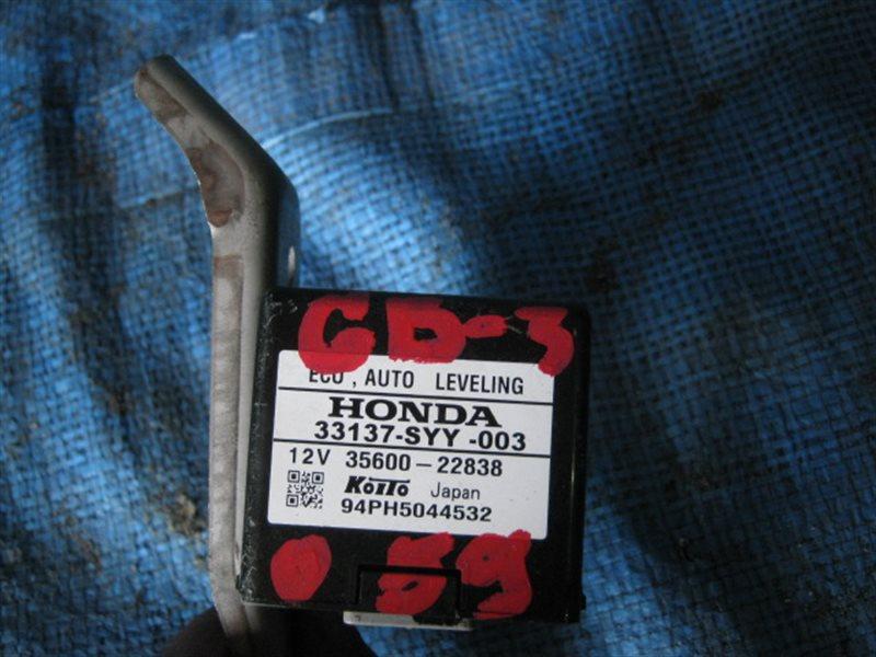 Блок управления Honda Freed GB3 L15A 2009