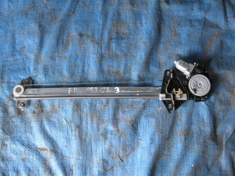 Стеклоподъемник Honda Freed GB3 L15A 2009 передний правый