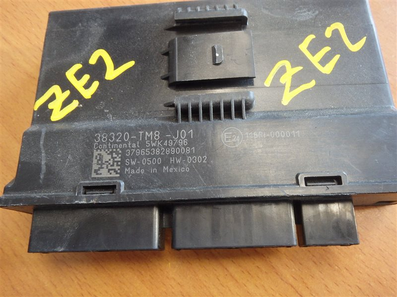 Блок управления Honda Insight ZE2 LDA 2009