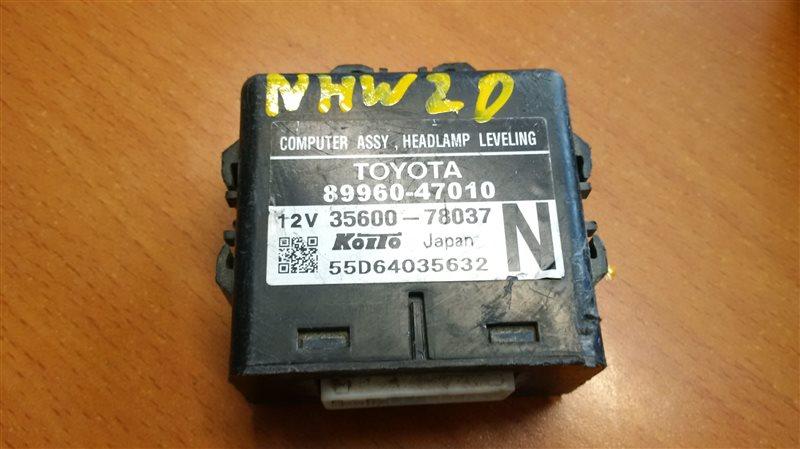 Блок управления светом Toyota Prius NHW20 1NZ-FXE 2003