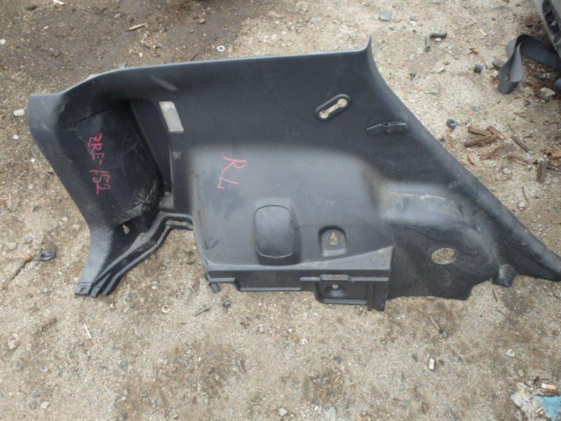Обшивка багажника Toyota Corolla Rumion ZRE152 2ZR-FE 2007 задняя левая нижняя