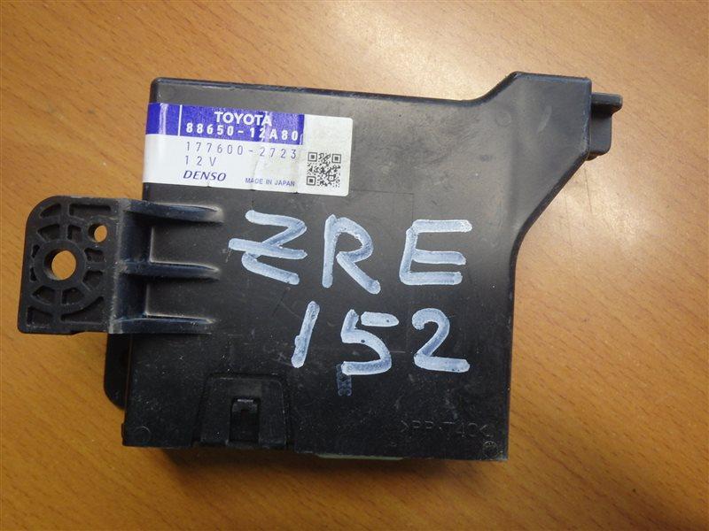 Блок управления кондиционером Toyota Corolla Rumion ZRE152 2ZR-FE 2007