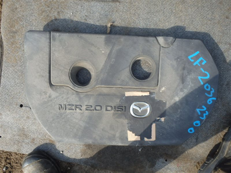 Крышка двигателя пластик Mazda Atenza GHEFP LF-VE 2010