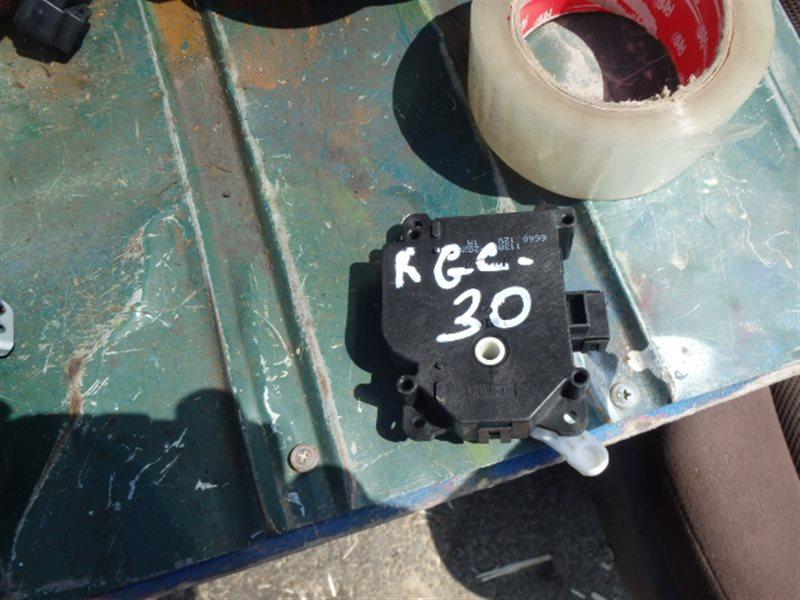 Сервопривод заслонок печки Toyota Passo KGC30 1KR-FE 2010