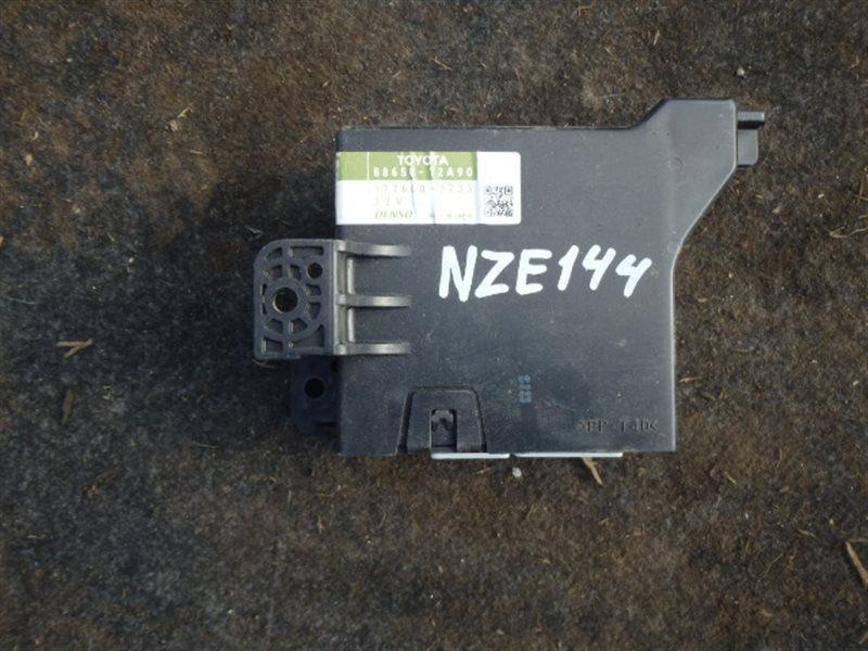 Блок управления кондиционером Toyota Corolla Axio NZE144 1NZ-FE 2007