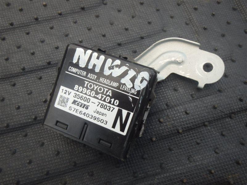 Блок управления светом Toyota Prius NHW20 1NZ-FXE 2005