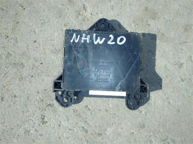 Блок управления кондиционером Toyota Prius NHW20 1NZ-FXE 2005