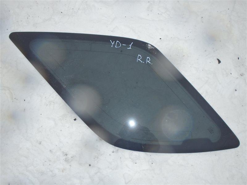 Стекло собачника Honda Mdx YD1 J35A 2003 заднее правое
