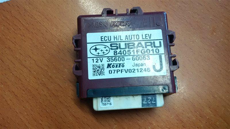 Блок управления светом Subaru Impreza GE2 EL15 2010