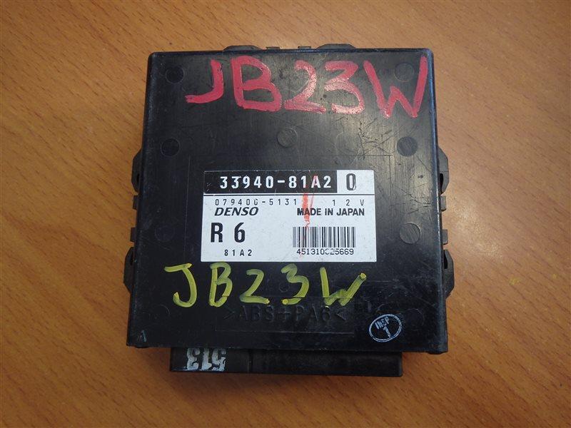 Блок управления Suzuki Jimny JB23W K6A-T 1998