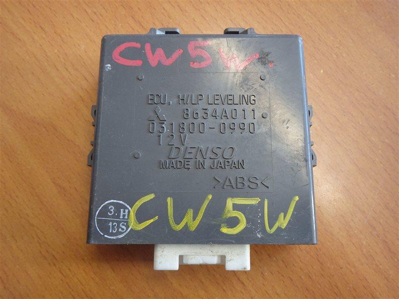 Блок управления Mitsubishi Outlander CW5W 4B12 2006