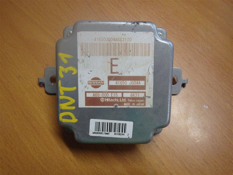 Блок управления Nissan Xtrail DNT31 M9R 2008