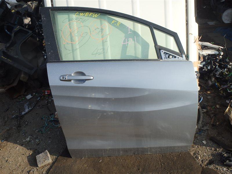 Дверь Mazda Premacy CWEFW LF-VDS 2010 передняя правая