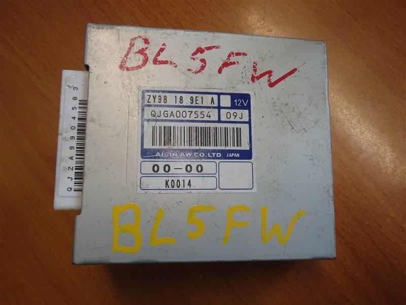 Блок управления Mazda Axela Sport BL5FW ZY 2009