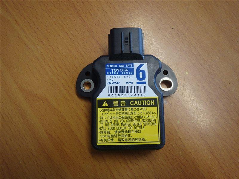 Датчик курсовой устойчивости Toyota Prius ZVW30 2ZR-FXE 2010