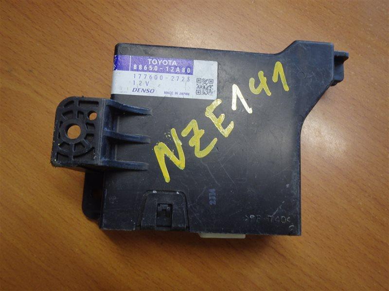 Блок управления кондиционером Toyota Corolla Axio NZE141 1NZ-FE 2007