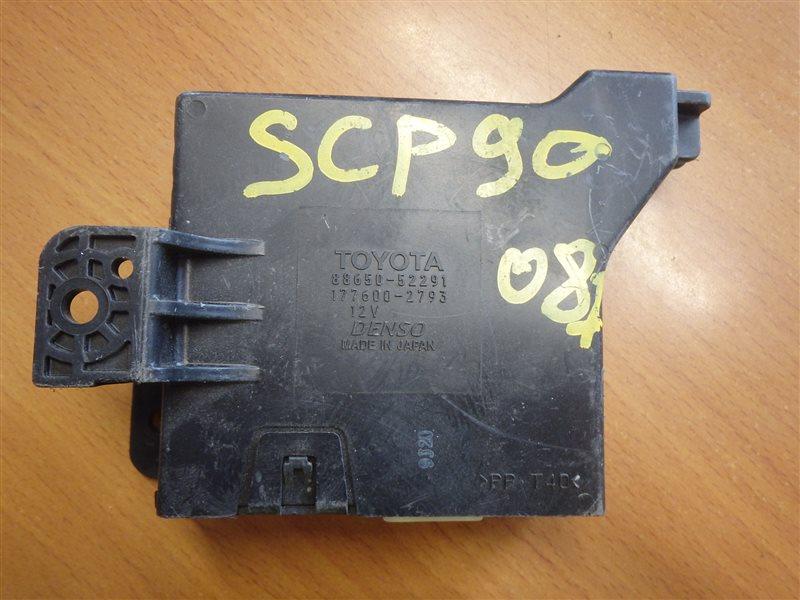 Блок управления кондиционером Toyota Vitz SCP90 2SZ-FE 2008