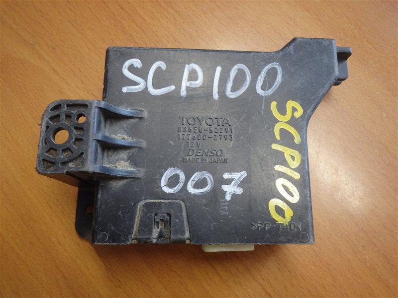 Блок управления кондиционером Toyota Ractis SCP100 2SZ-FE 2007
