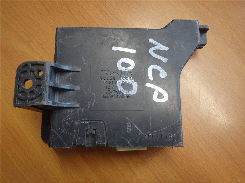 Блок управления кондиционером Toyota Ractis NCP100 1NZ-FE