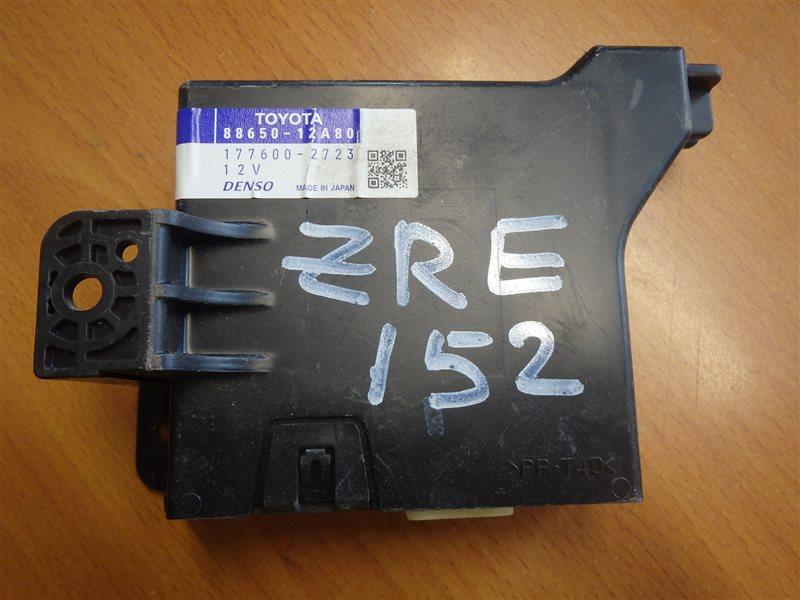 Блок управления кондиционером Toyota Corolla Rumion ZRE152 2ZR-FE
