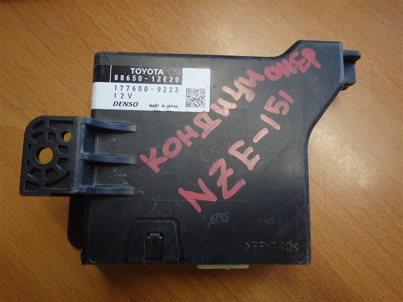 Блок управления кондиционером Toyota Auris NZE151 1NZ-FE