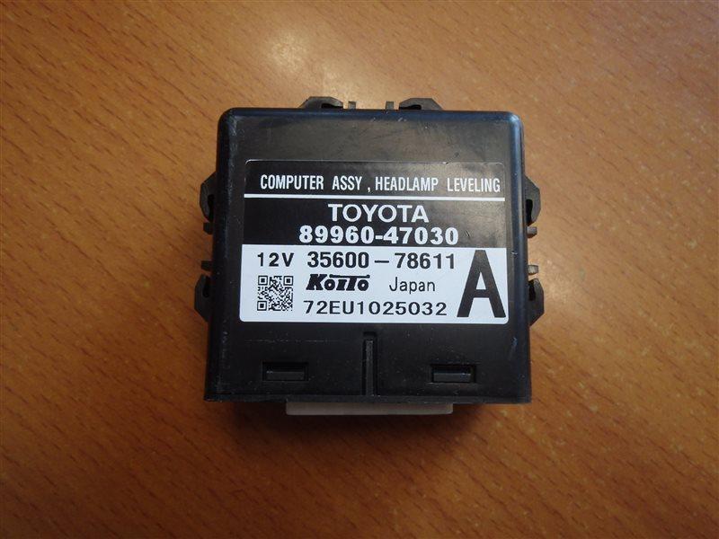 Блок управления светом Toyota Prius NHW20 1NZ-FXE 2007