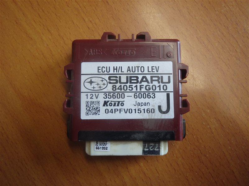 Блок управления светом Subaru Impreza GH2 EL15 2010