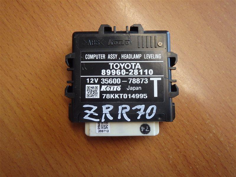 Блок управления светом Toyota Voxy ZRR70 3ZR-FE 2007
