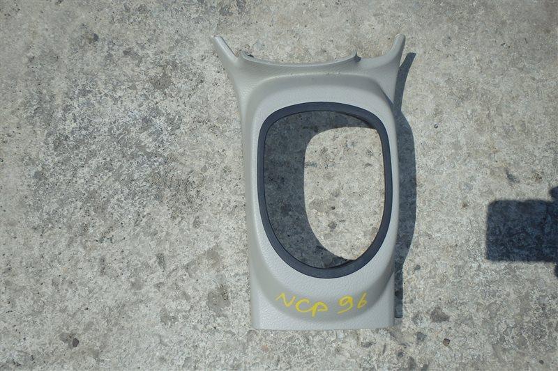 Консоль кпп Toyota Belta NCP96 2NZ-FE 2006