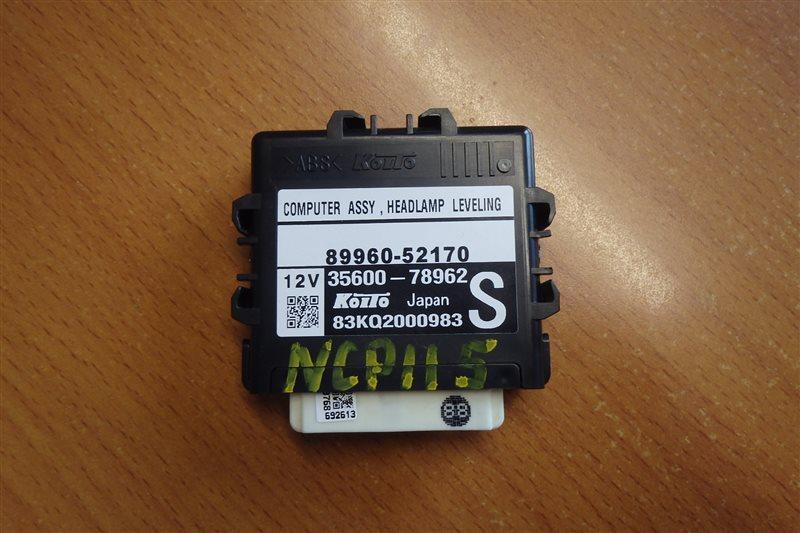 Блок управления светом Toyota Ist NCP115 1NZ-FE 2008