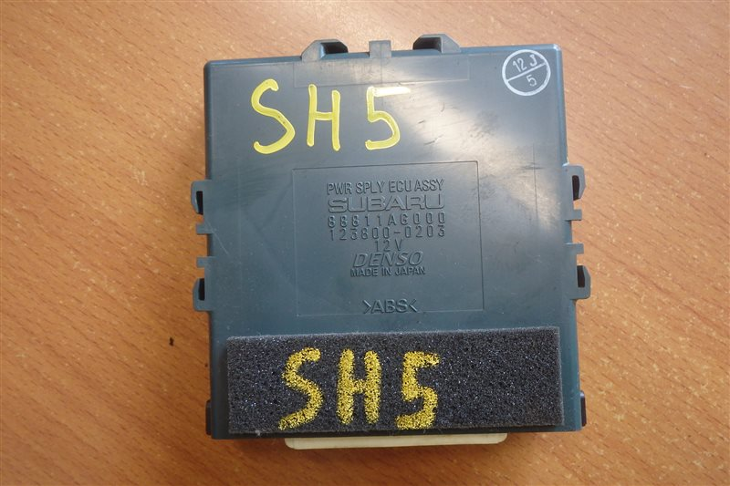 Блок управления Subaru Forester SH5 EJ204 2008