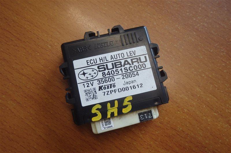 Блок управления светом Subaru Forester SH5 EJ204 2008