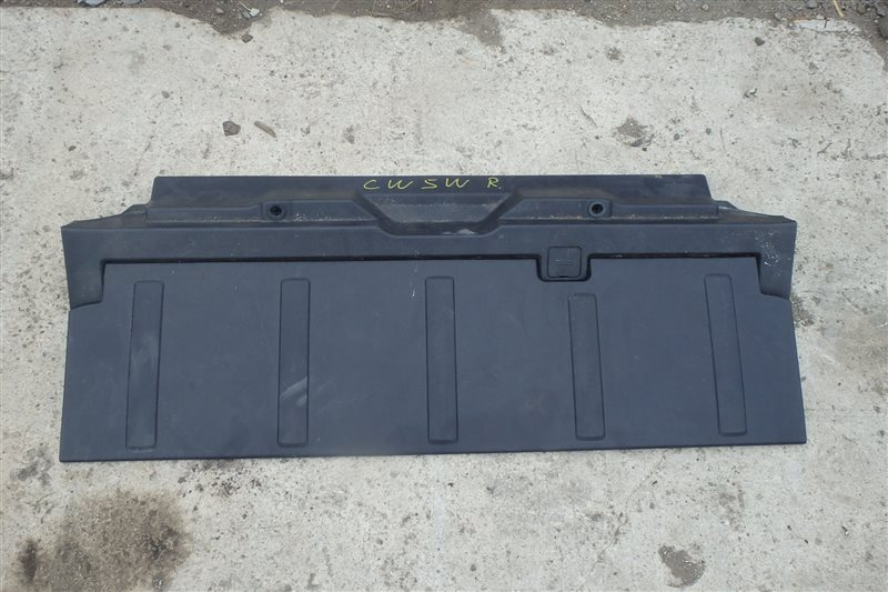 Полка багажника Mitsubishi Outlander CW5W 4B12 2005 нижняя