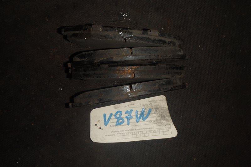 Колодки тормозные Mitsubishi Pajero V87W 6G75 передние