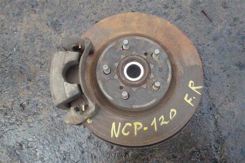 Ступица Toyota Ractis NCP120 1NZ-FE 2010 передняя правая