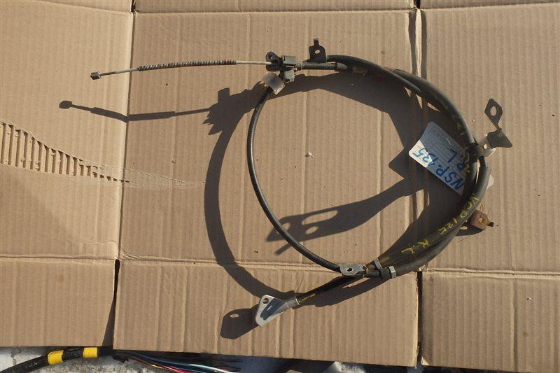 Тросик ручника Toyota Vitz NSP135 1NR-FE задний левый