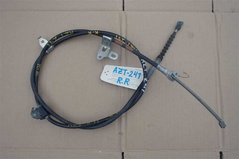 Тросик ручника Toyota Caldina AZT241 1AZ-FSE задний правый