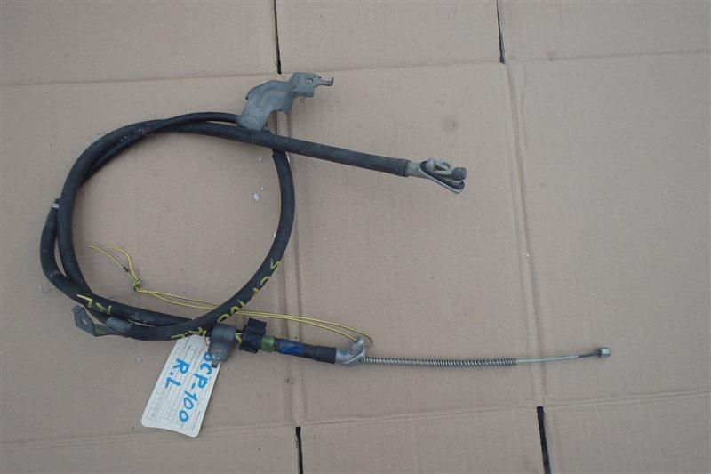 Тросик ручника Toyota Ractis SCP100 2SZ-FE задний левый