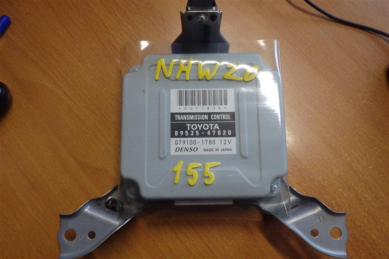 Блок управления акпп Toyota Prius NHW20 1NZ-FXE 2006