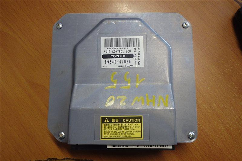 Блок управления abs Toyota Prius NHW20 1NZ-FXE 2006