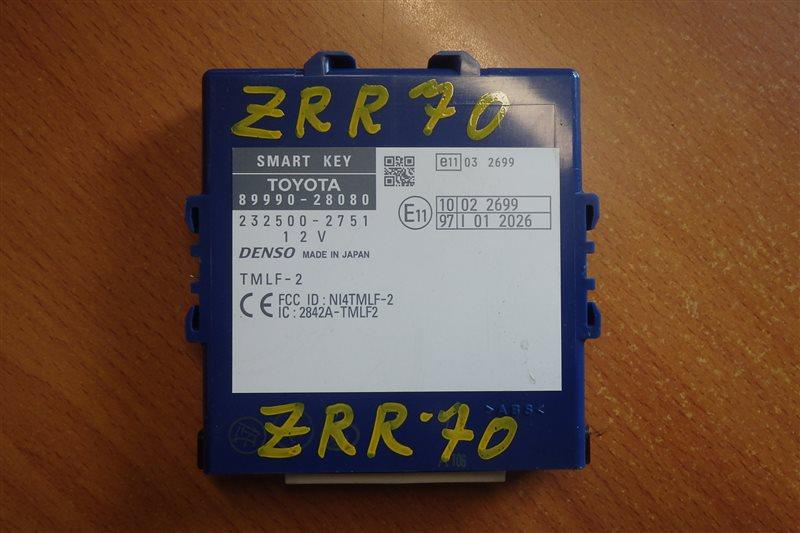 Блок управления Toyota Voxy ZRR70 3ZR-FE 2008