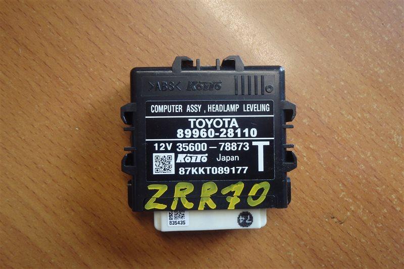 Блок управления светом Toyota Voxy ZRR70 3ZR-FE 2008