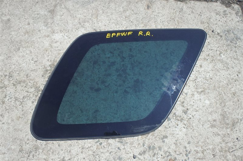 Стекло собачника Mazda Ford Escape EPFWF AJ 2001 заднее правое