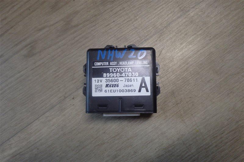 Блок управления светом Toyota Prius NHW20 1NZ-FXE 2006