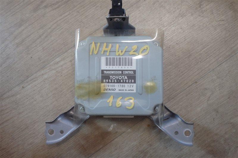 Блок управления акпп Toyota Prius NHW20 1NZ-FXE 2007