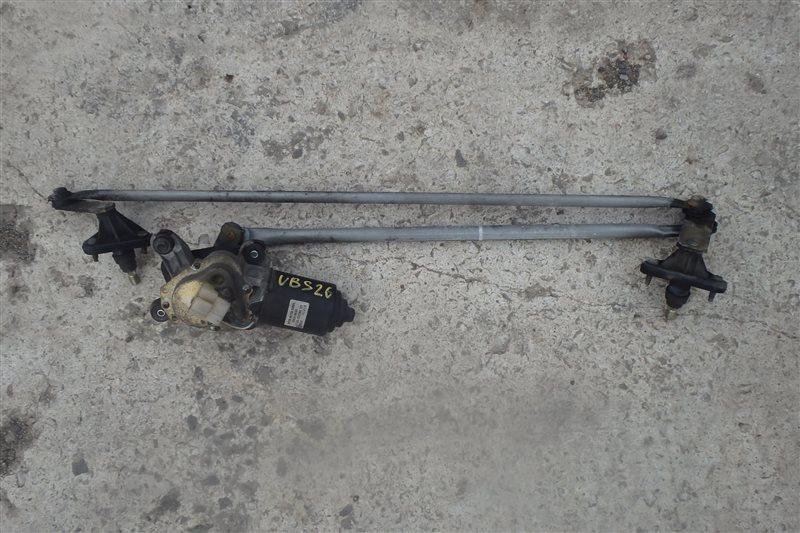 Мотор дворников Isuzu Bighorn UBS26GW 6VE1 2001 передний