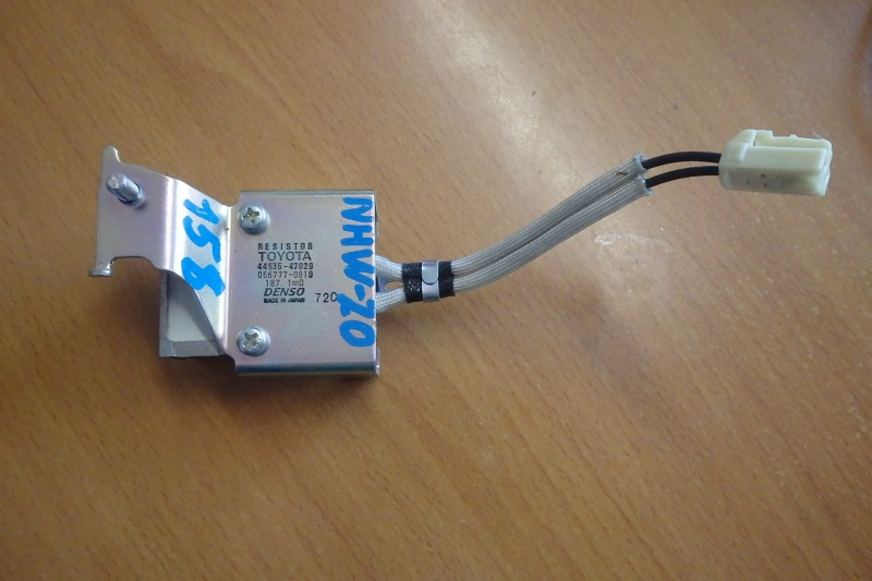 Резистор Toyota Prius NHW20 1NZ-FXE